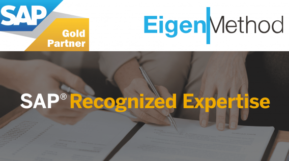 EIGENMETHOD GOT 6th AWARD OF SAP RECOGNIZED EXPERTISE: FINANCIAL MANAGEMENT